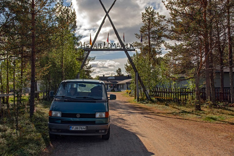 FI_180822 Suomi_0003 Hetan Lomakylän leirintäalue Enontekiöll