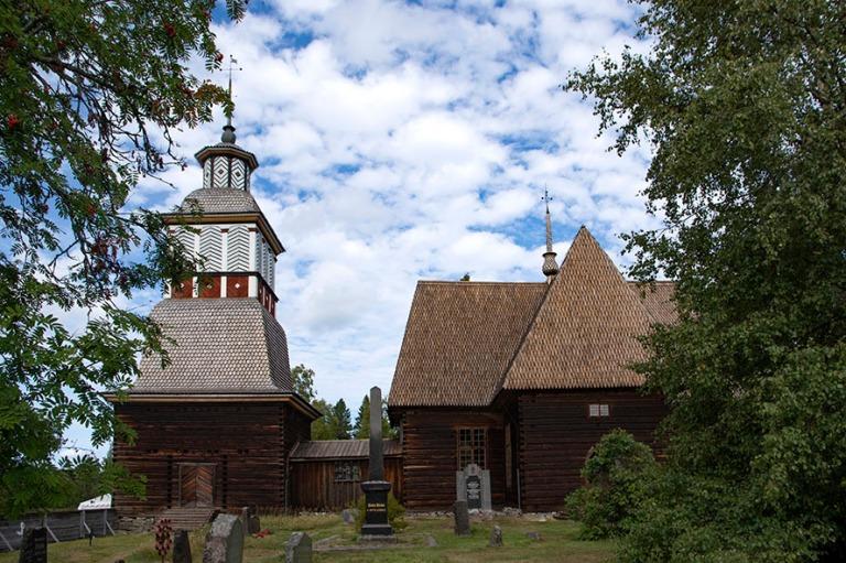 FI_180825 Suomi_0068 Petäjäveden vanha kirkko Keski-Suomessa