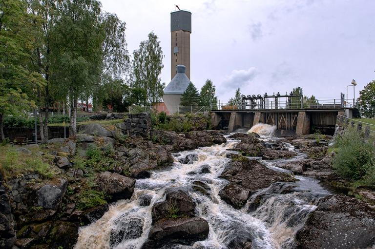 fi_180826 suomi_0064 jämsänkosken jämsänkosken teollisuusympäristö keski-suomessa
