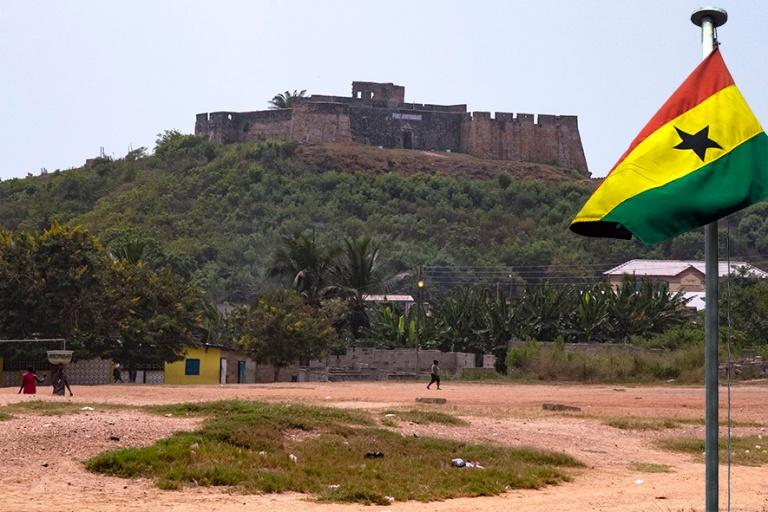 GH_190106 Ghana_0068 Fort Amsterdam  Abandzessa Centralin hallin