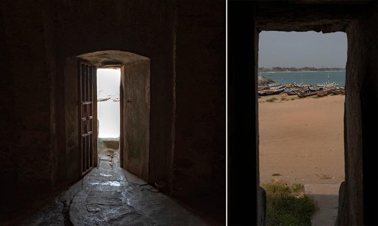 GH_190106 Ghana_0207 Elminan linnoituksen ovi jolta ei ole paluu