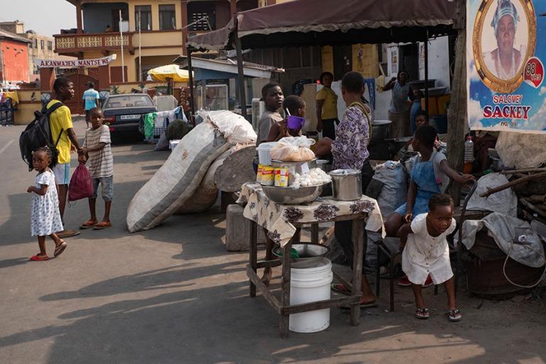 GH_190108 Ghana_0075 Accran James Townin elämää