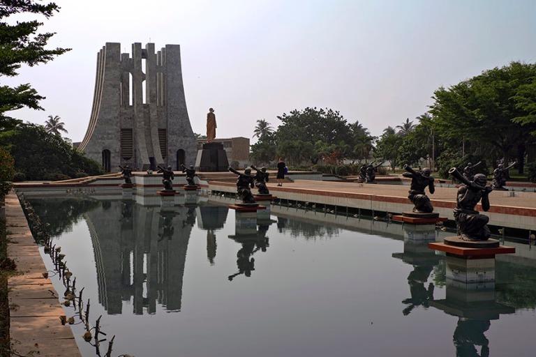 GH_190108 Ghana_0127 Kwame Nkrumahin mausoleumi ja muistomerkki