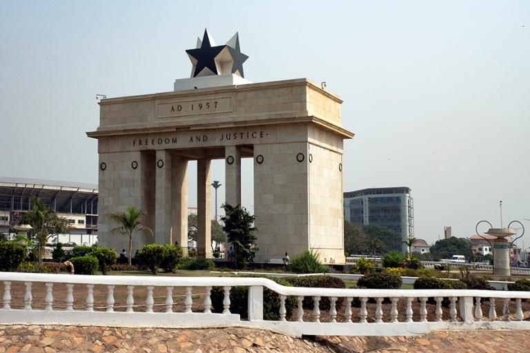 GH_190108 Ghana_0157 Accran Itsenäisyydenaukio