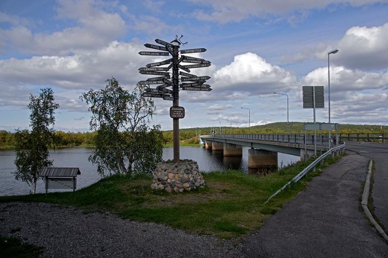 SE_180822 Ruotsi_0025 Karesuandon etäisyyksiä