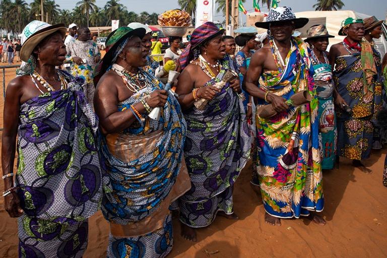 BJ_190110 Benin_0173 Ouidahin Voodoo-festivaalit