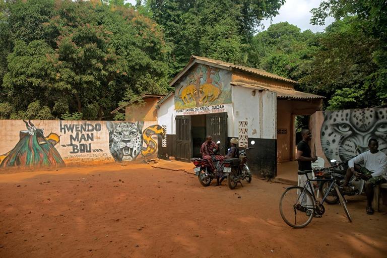 BJ_190110 Benin_0239 Kpassén salainen metsä Ouidahissa