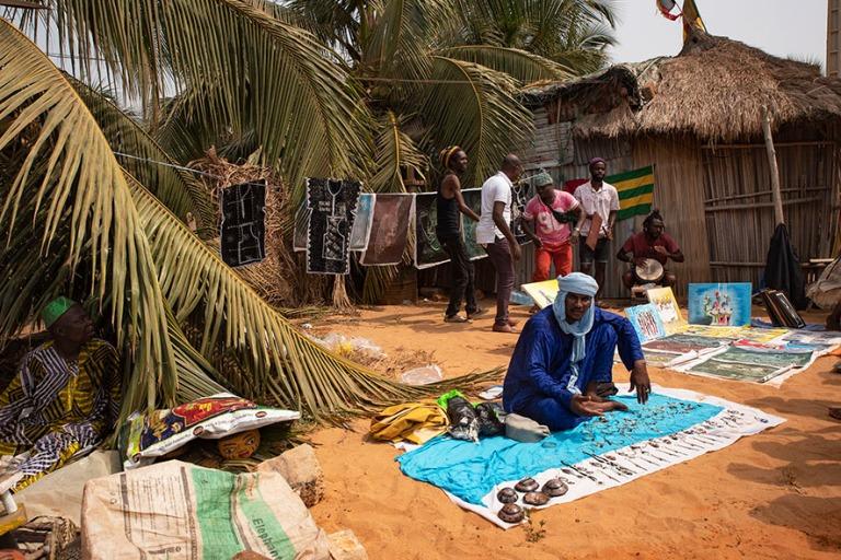 BJ_190110 Benin_0342 Ouidahin Voodoo-festivaalit