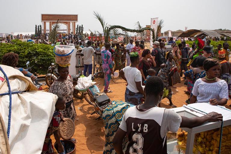 BJ_190110 Benin_0366 Ouidahin Voodoo-festivaalit