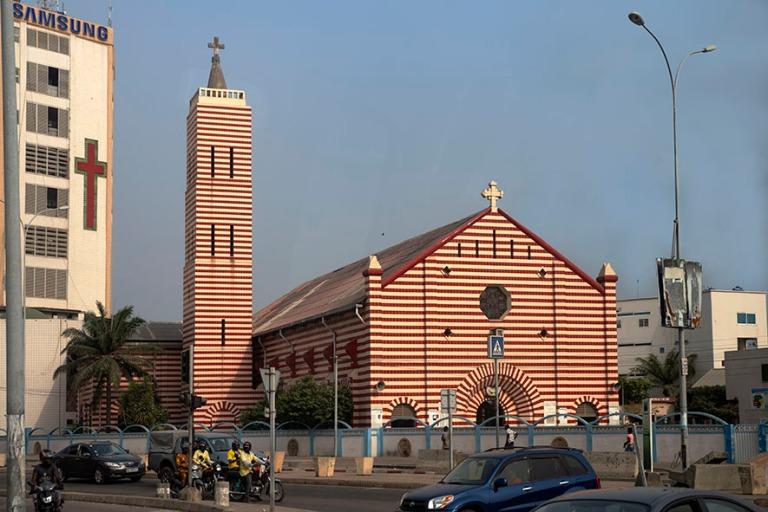 BJ_190110 Benin_0487 Cotonoun katedraali Notre Dame de Misericor