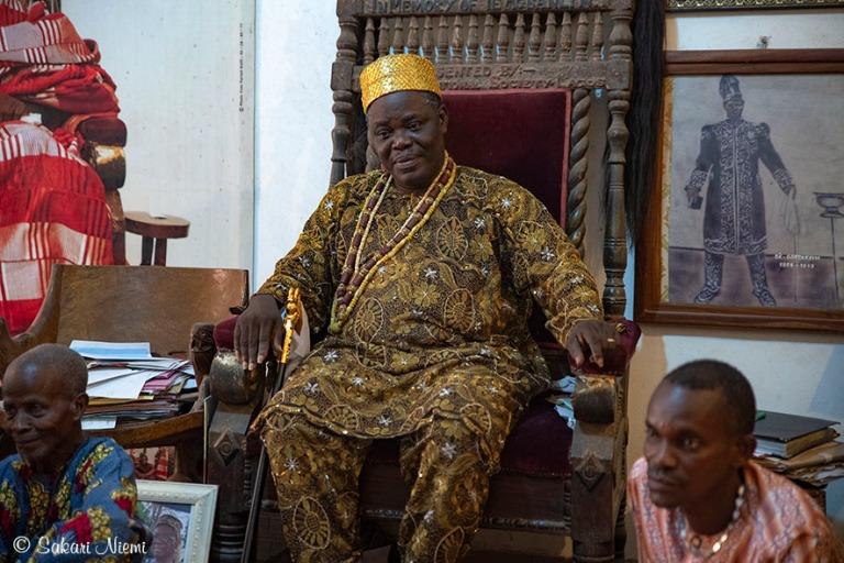 BJ_190111 Benin_0124 Porto-Novon kuningas Tofa IX