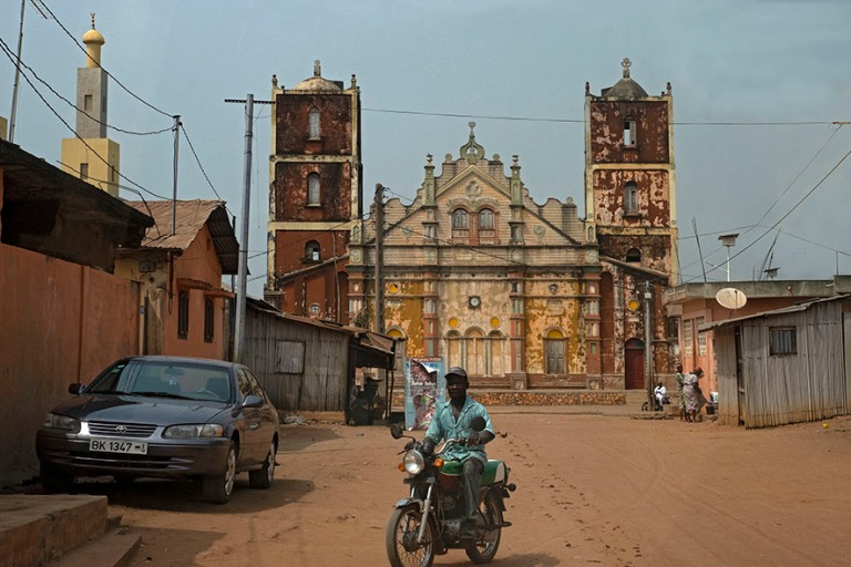 BJ_190111 Benin_0143 Porto-Novon Suuri moskeija