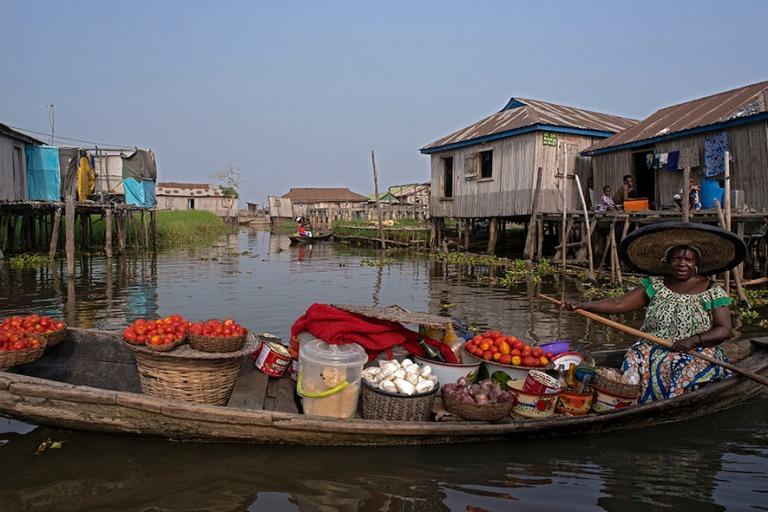 BJ_190111 Benin_0359 Ganvien kylä Nokoué-järvellä