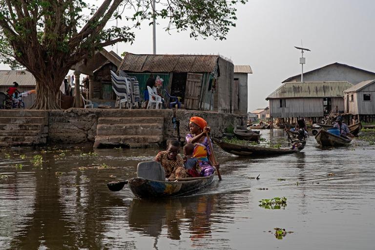 BJ_190111 Benin_0371 Ganvien kylä Nokoué-järvellä