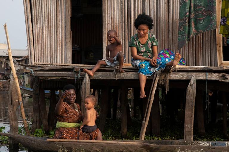 BJ_190111 Benin_0442 Ganvien kylä Nokoué-järvellä
