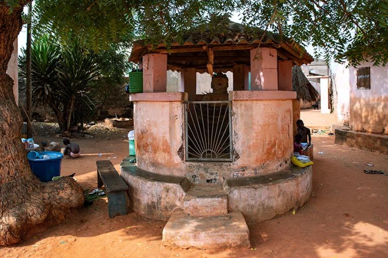 TG_190109 Togo_0413 Voodoo-temppeli Togovillen kylässä