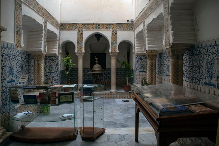 DZ_190312 Algeria_0187 Algerin Kasbahin Dar Mustapha Pacha-palat