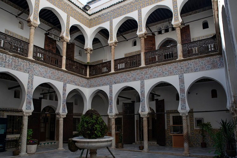DZ_190312 Algeria_0190 Algerin Kasbahin Dar Mustapha Pacha-palatsi