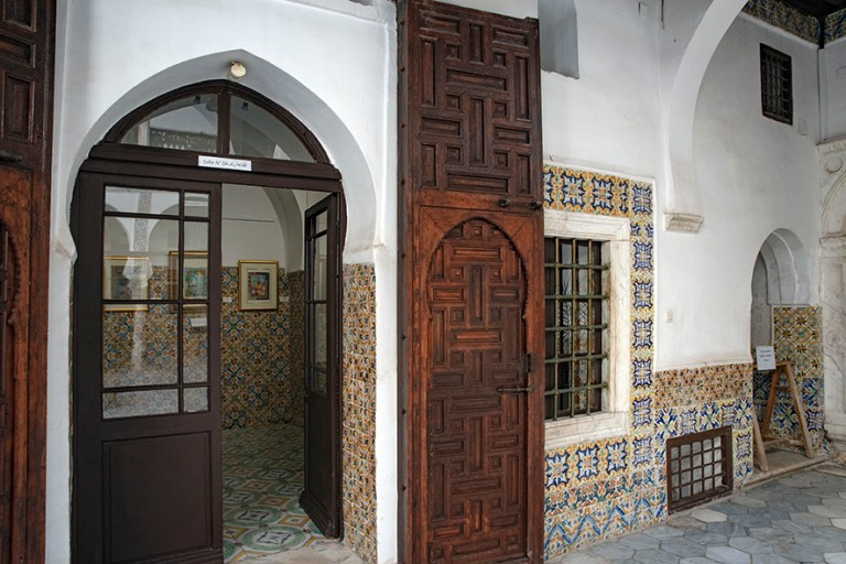 DZ_190312 Algeria_0191 Algerin Kasbahin Dar Mustapha Pacha-palat