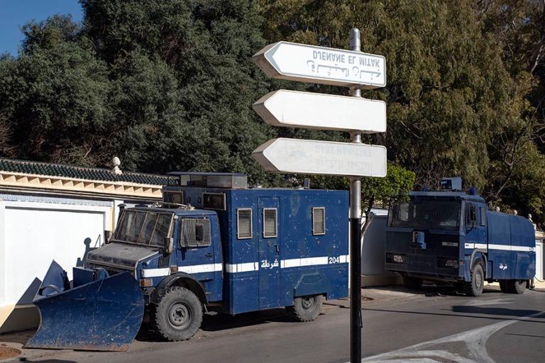 DZ_190312 Algeria_0445 Poliisin auraus- ja sammutuskalustoa Alge