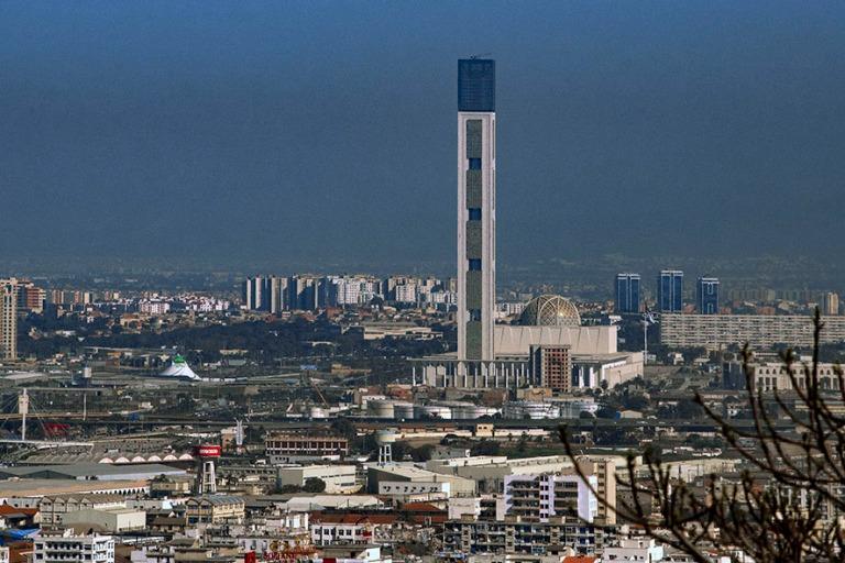DZ_190312 Algeria_0464 Alger´n uusi Suuri moskeija Marttyyrien