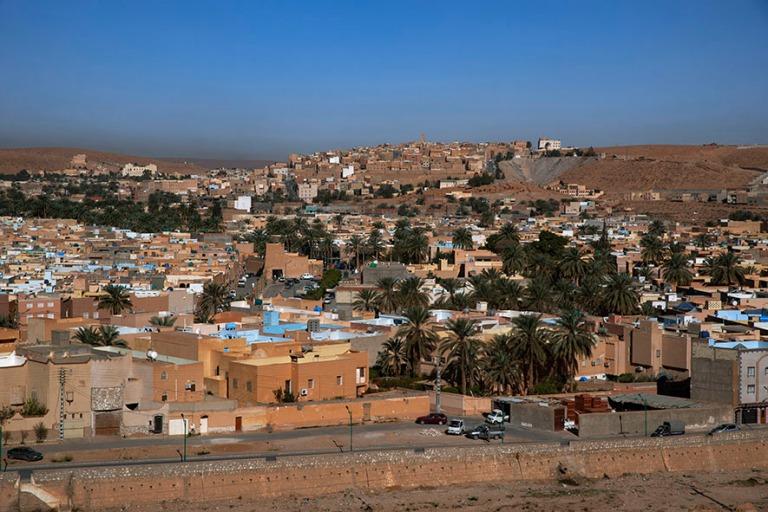 DZ_190316 Algeria_0047 M'zabin laakson berberikaupunkipanoraamaa Saharassa_2