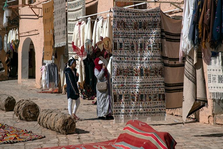DZ_190316 Algeria_0168 Marché De Ghardaia M'zabin laaksossa S