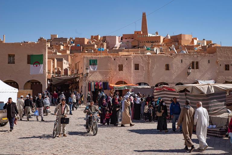 DZ_190316 Algeria_0184 Ghardaian ksar markkinatorilta M'zabin