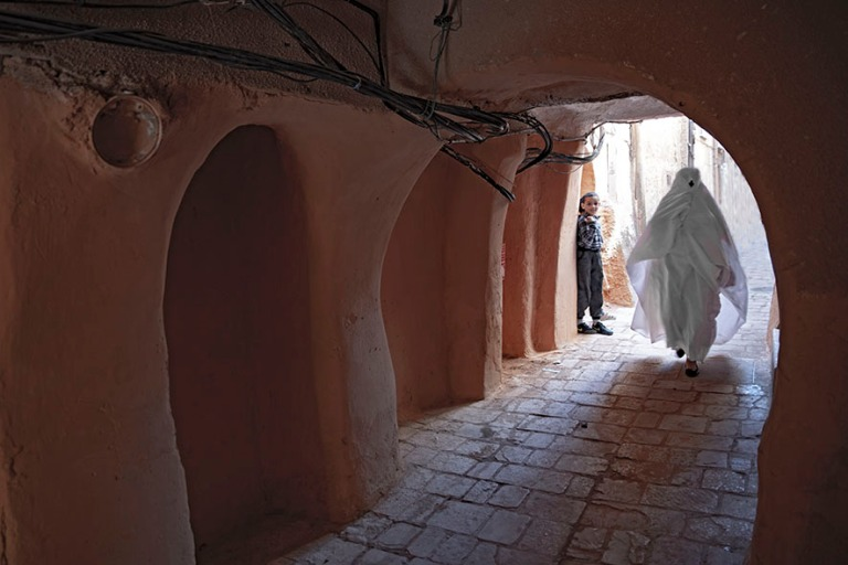 DZ_190316 Algeria_0320 El Atteufin ksaria M'zabin laaksossa Sa