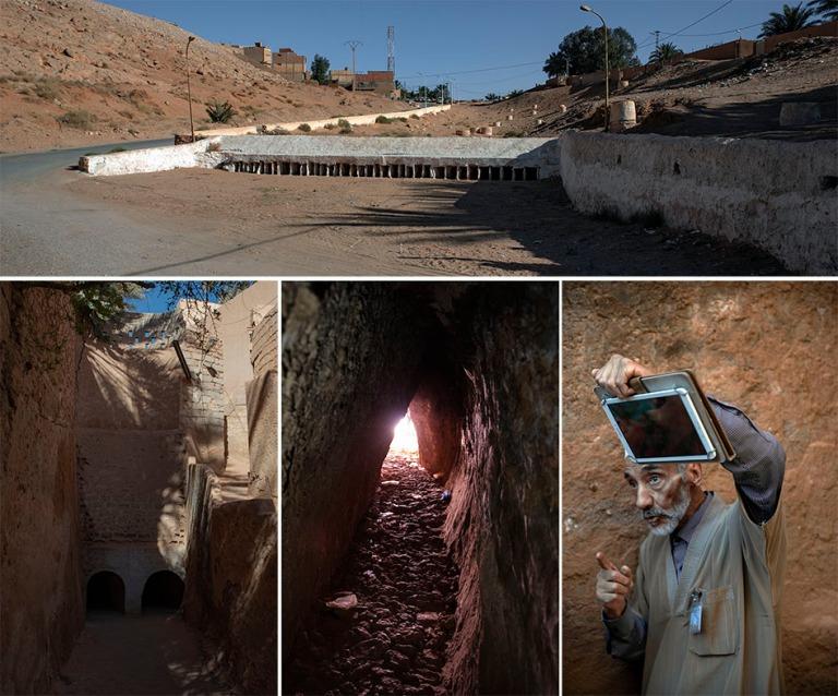DZ_190316 Algeria_0433 M'zabin laakson veden talteenotto- ja j