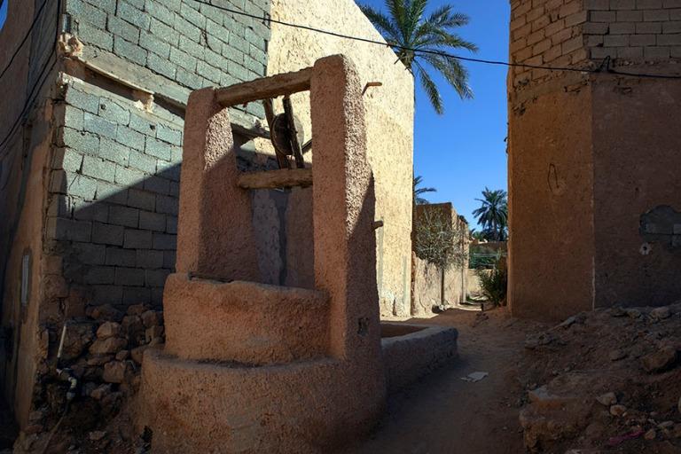 DZ_190316 Algeria_0443 M'zabin laakson veden talteenotto- ja j