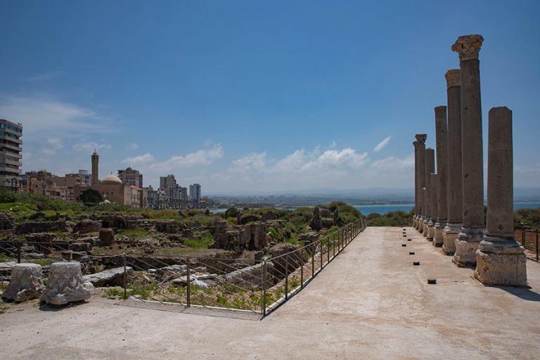 LB_190504 Libanon_0224 Tyroksen Al-Minan roomalainen kylpylä ja