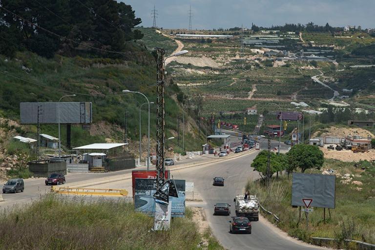 LB_190504 Libanon_0292 UNIFILin pohjoisraja Etelä-Libanonissa