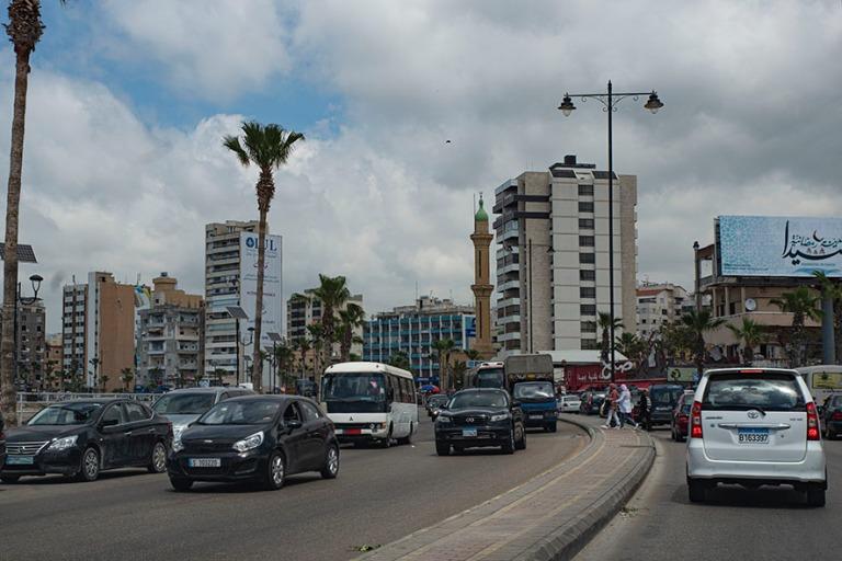 LB_190504 Libanon_0386 Sidonin keskustaa Etelä-Libanonissa