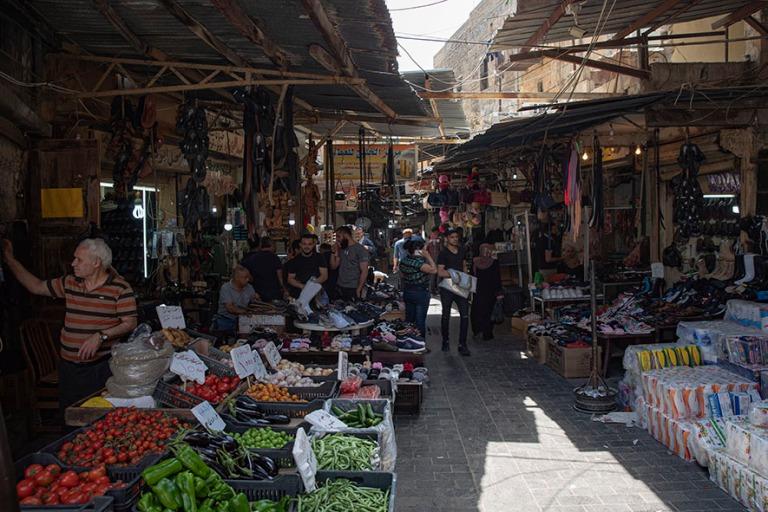 LB_190504 Libanon_0441 Sidonin vanhan kaupungin souk Etelä-Liba