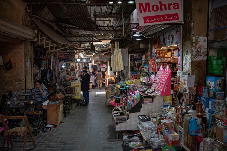 LB_190504 Libanon_0444 Sidonin vanhan kaupungin souk Etelä-Liba