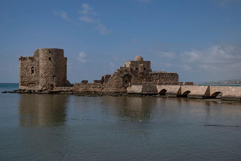 LB_190504 Libanon_0512 Sidonin merilinna (ristiretkeläislinnoitus 1200-luvulta)