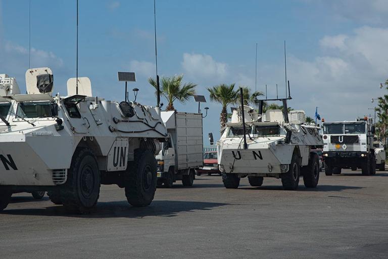 LB_190504 Libanon_0518 UNIFILin rauhanturvakalustoa Sidonin kesk