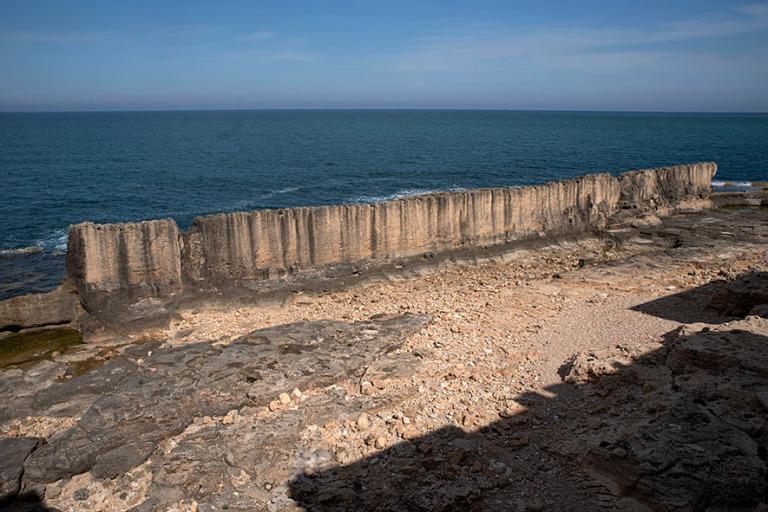 LB_190505 Libanon_0053 Batrounin foinikialainen muuri