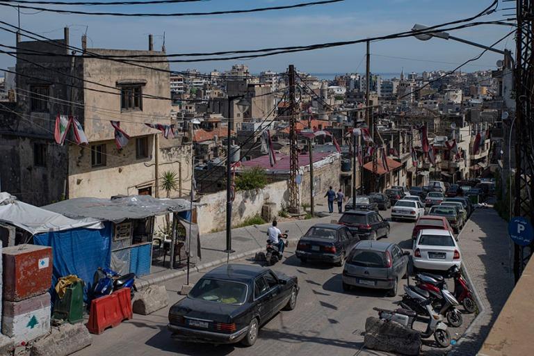 LB_190505 Libanon_0140 Tripolin panoraamaa linnoitukselta Pohjoi