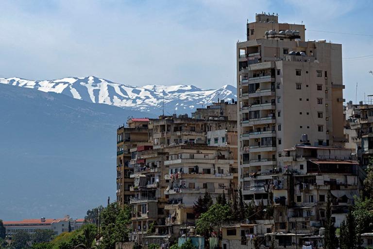 LB_190505 Libanon_0209 Näkymää Tripolin Saint-Gillesin linnal