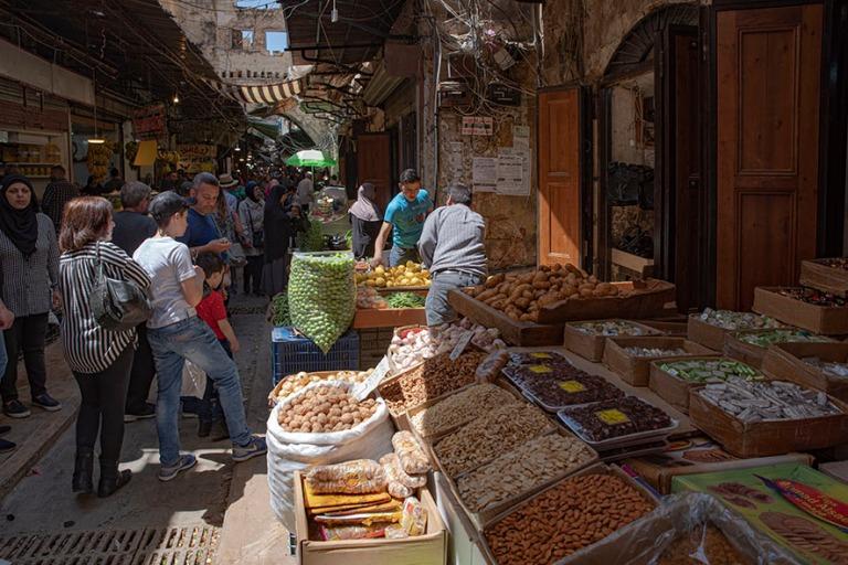 LB_190505 Libanon_0296 Tripolin vanhan kaupungin souk Pohjois-Li