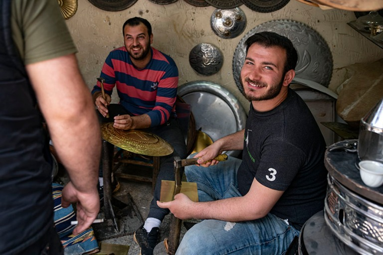 LB_190505 Libanon_0429 Tripolin vanhan kaupungin kuparisouk Pohj