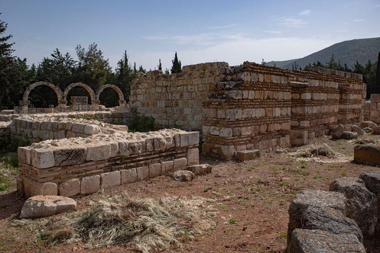 LB_190506 Libanon_0072 Anjarin arkeologinen alue Bekaan laaksoss