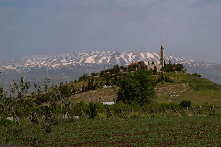 LB_190506 Libanon_0128 Anjarin maisemaa Bekaan laaksossa