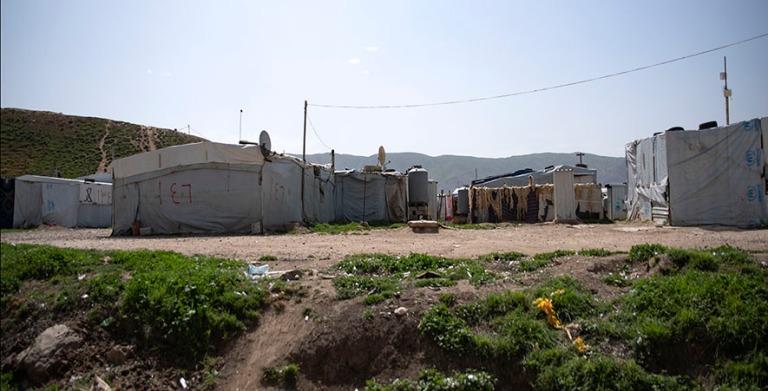 LB_190506 Libanon_0138 Syyrian pakolaisten leiri Bekaan laaksoss
