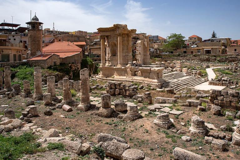 LB_190506 Libanon_0182 Baalbekin Venuksen temppeli Bekaan laakso