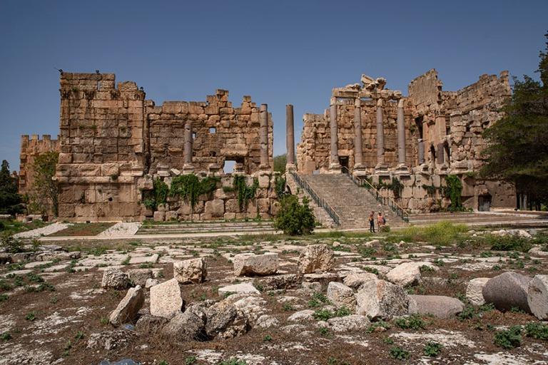 LB_190506 Libanon_0194 Baalbekin propylaia Bekaan laaksossa