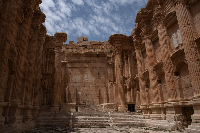 LB_190506 Libanon_0271 Baalbekin Bacchuksen temppeli Bekaan laak