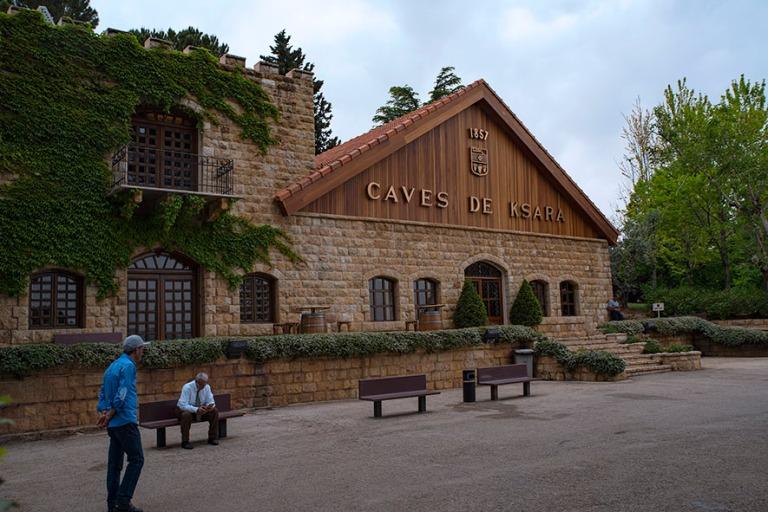 LB_190506 Libanon_0397 Château Ksara Zahlessa Bekaan laaksossa